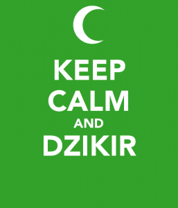 Keep Calm & Dzikir